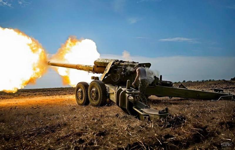 Бойцы сил ООС уничтожили артиллерийскую группу боевиков, которая обстреливала Водяное (ВИДЕО)