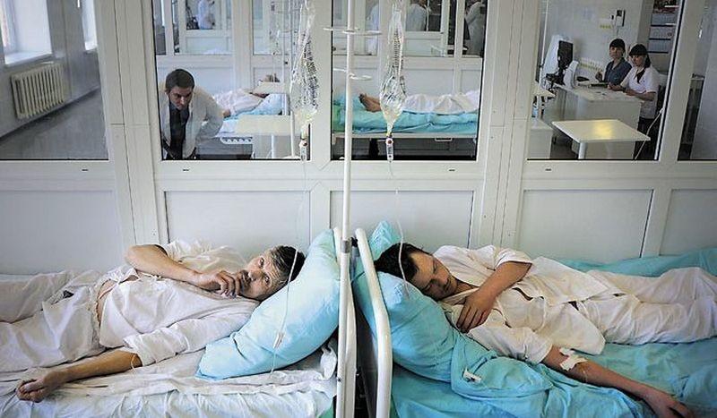 С подозрением на ветрянку в больнице оказались шесть нацгвардейцев