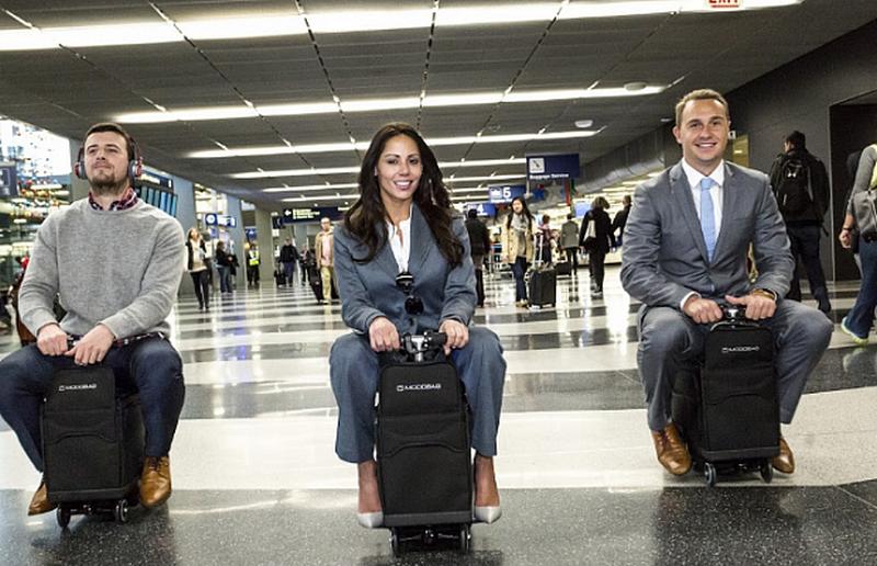 Теперь на чемодане можно будет прокатиться