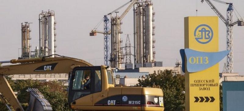 Одесский припортовый завод остановлен