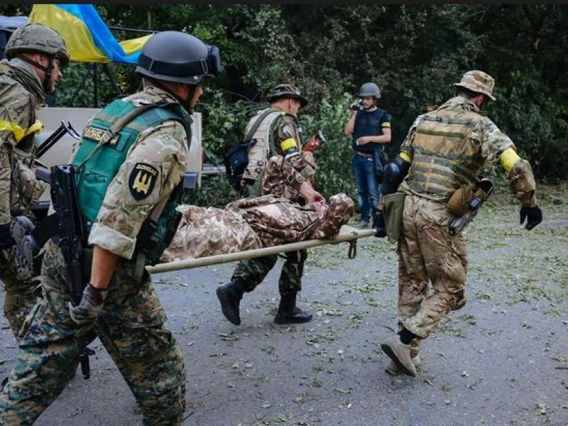 На Донбассе ранен украинский военный. ВСУ открывали ответный огонь (ВИДЕО)