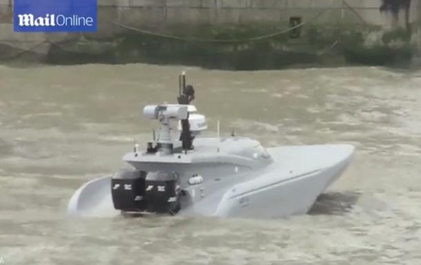 В Британии испытали футуристическую антитеррористическую беспилотную лодку