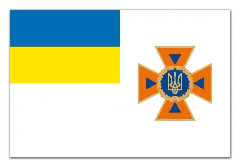 Украинские спасатели получили новую символику