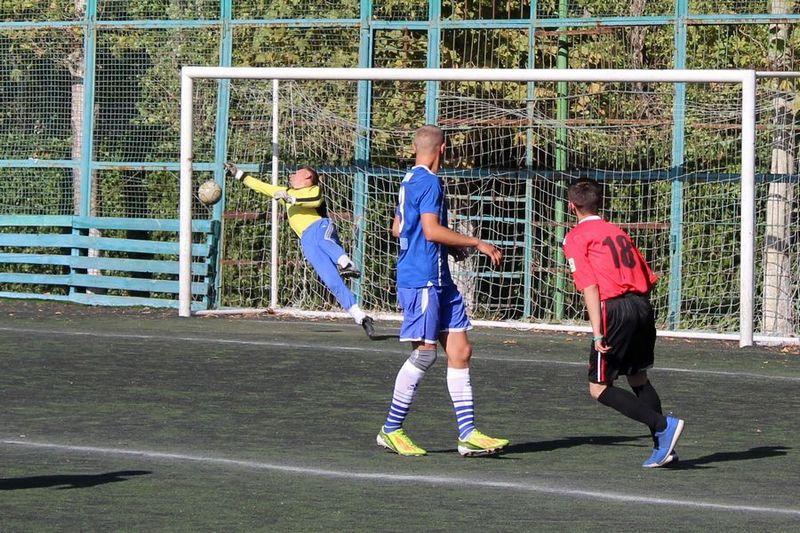 Футбол как сыгран первый матч