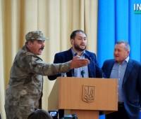 Слева направо: Олег Кравец, Максим Невенчанный, Сергей Чмырь