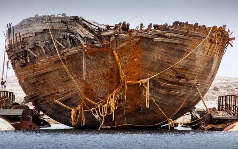 В Арктике найден корабль легендарного путешественника Амундсена
