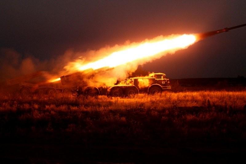В зоне АТО противник применил ракетные комплексы