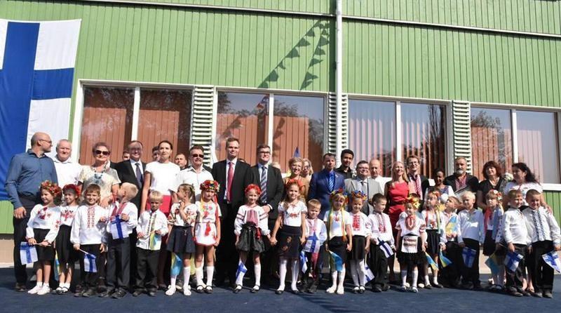 На Херсонщине открыли энергетически автономную школу