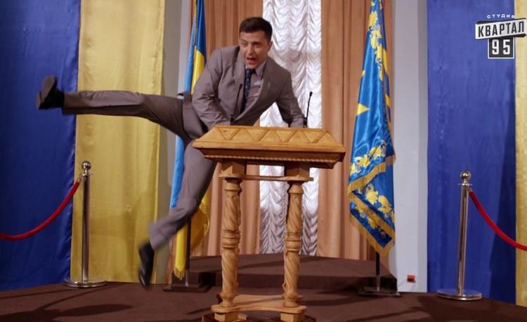 """Юзик із """"95 кварталу"""" очолив штаб Зеленського в Кривому Розі - Цензор.НЕТ 1740"""