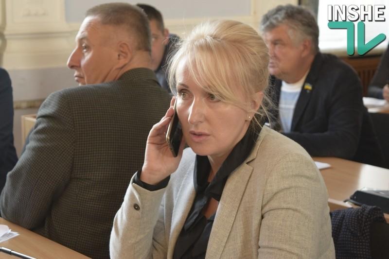 Сенкевич внёс кандидатуру Казаковой в качестве претендента на должность секретаря Николаевского горсовета