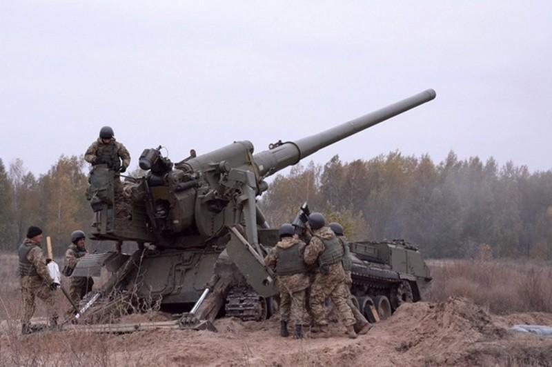 На Донбассе российские наемники применяли тяжелую артиллерию и минометы, потерь нет