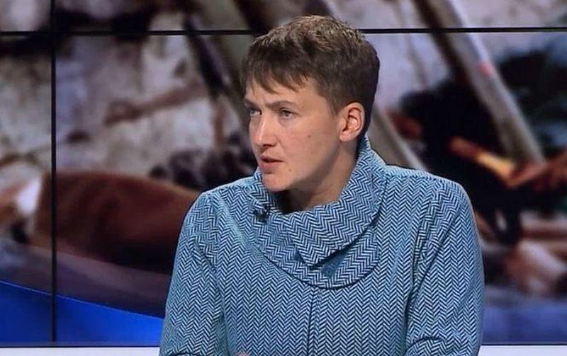 В СБУ провели с Савченко воспитательную беседу относительно списков пленных