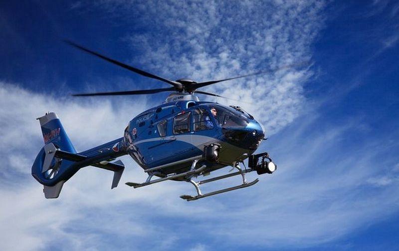 В Японии разбился спасательный вертолет, есть погибшие