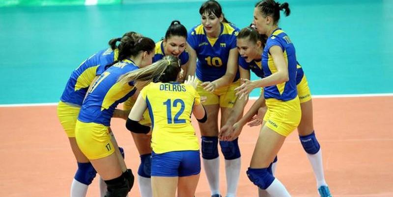 Украина примет чемпионат Европы по волейболу