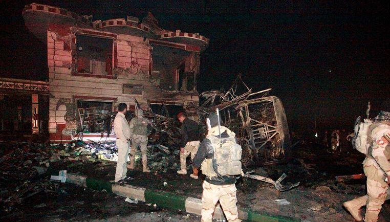 В Ираке взорвался грузовик на пути паломничества шиитов к гробнице имама Хусейна