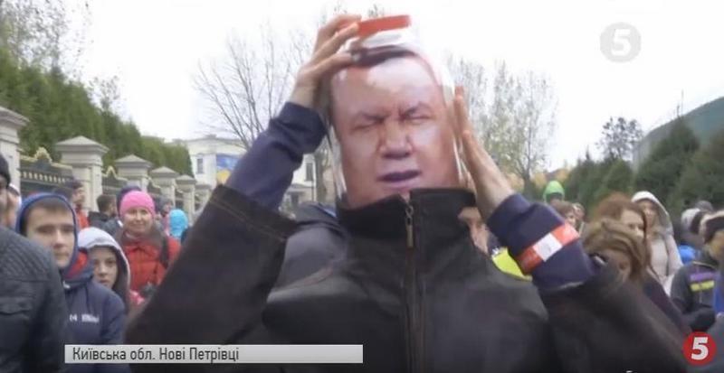 Тропинками Януковича: под Киевом прошел спортивный марафон «Втеча з Межигір'я»