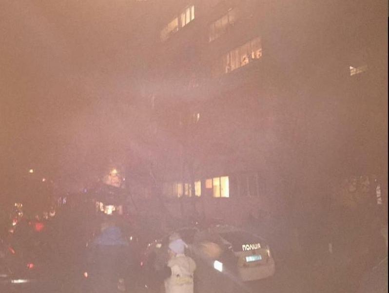 Во львовской многоэтажке сегодня вечером прогремел взрыв