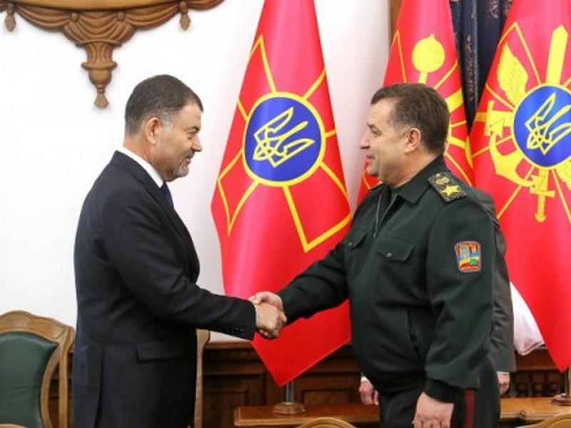 Министры обороны Украины и Молдовы обсудили пути вывода российских войск и вооружения из Приднестровья