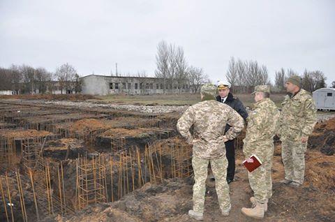 Ремонт идет полным ходом. В Одесской области ВМС ВСУ восстанавливают учебные базы