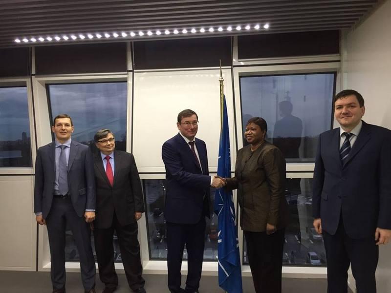 Луценко передал важную информацию в Гаагский трибунал по российской агрессии в Украине