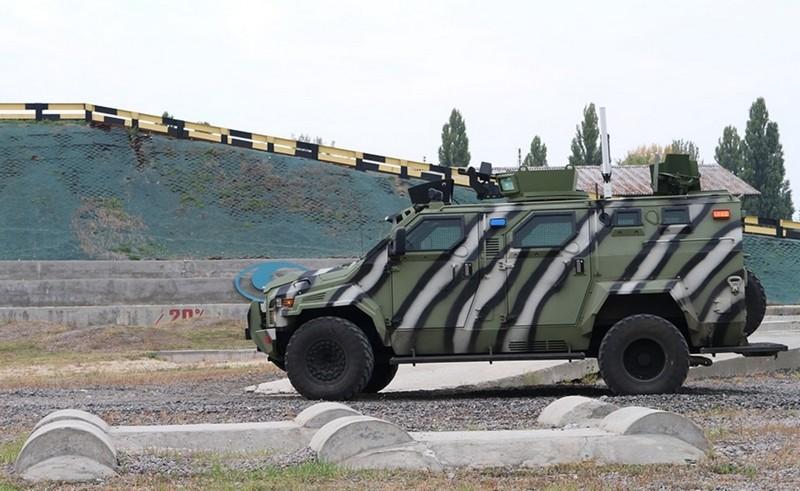 Украинский КрАЗ-беспилотник: боевая машина испытана