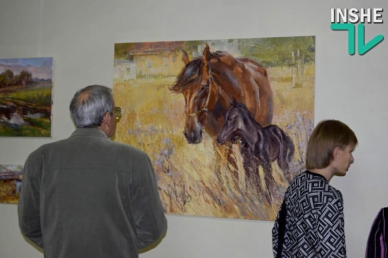 Немножко счастья и чуда в промозглом ноябре: в Николаеве открылась художественная выставка «Кинбурн – любовь моя!»