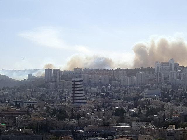 В Израиле в Хайфе вспыхнули сильные пожары: 75 тысяч эвакуированных. Власти заявили о поджогах
