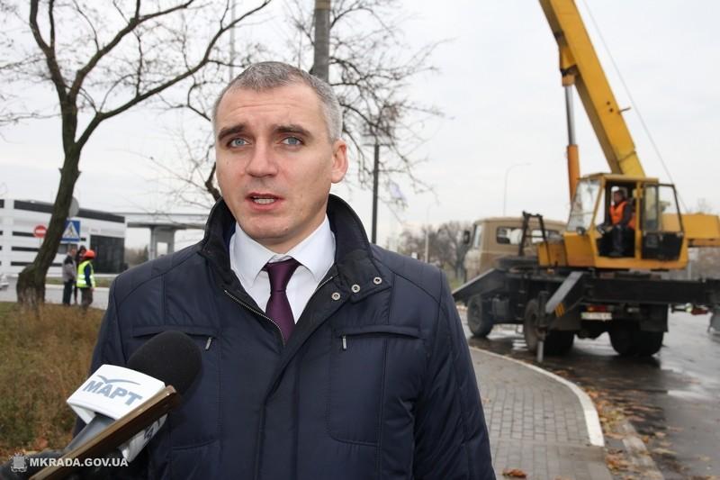 Мэр Николаева Сенкевич надеется к 2018 году проложить троллейбусную линию в Октябрьское