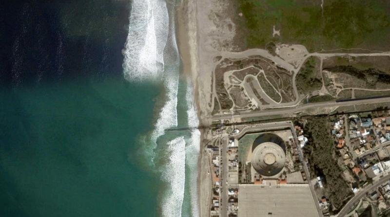 Место Великой Стены Трампа: в Сети выложили видео границы между США и Мексикой