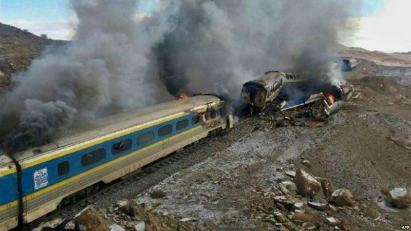 Глава Иранских железных дорог ушел в отставку после аварии поездов, в которой погибли 45 человек