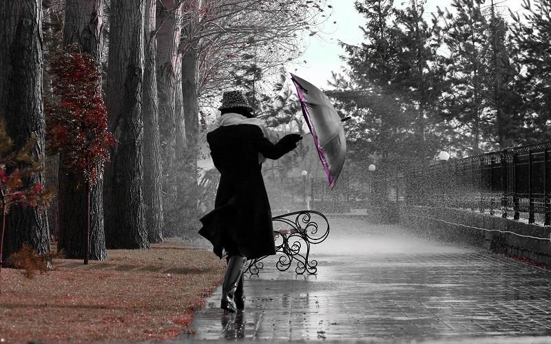 Завтра в Украине дожди, температура до +13