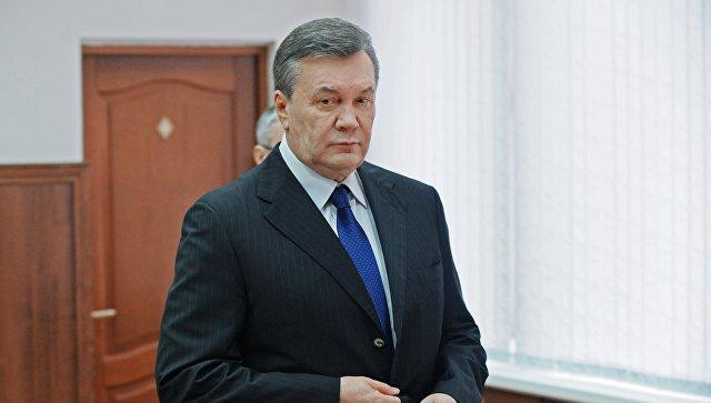 Приговор Януковичу вступил в силу