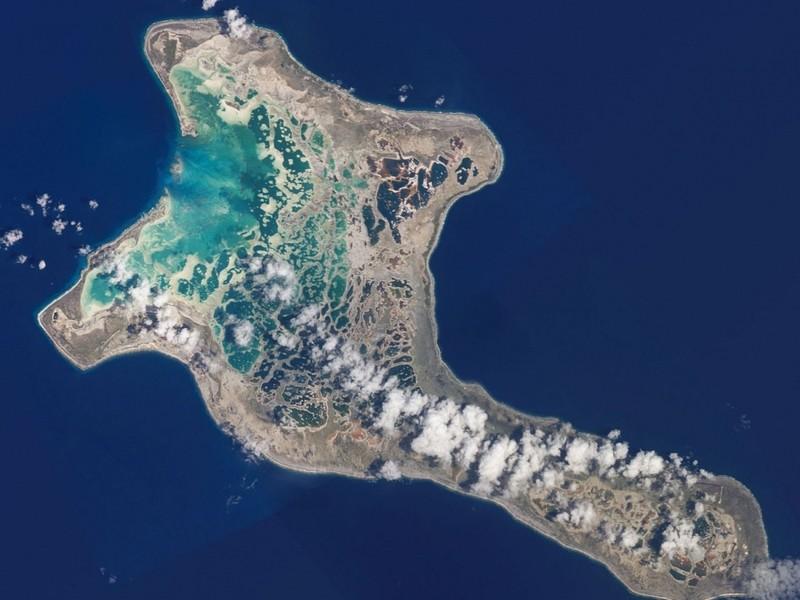 В общем-то, логично: первыми на Земле 2017 год встретили жители Острова Рождества