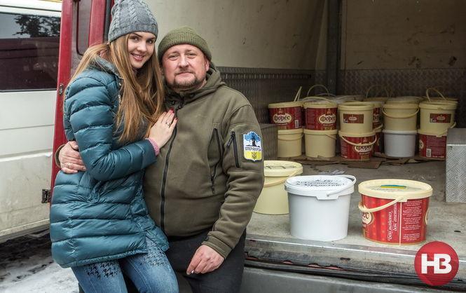 Оливье. Две тонны новогоднего салата для бойцов АТО