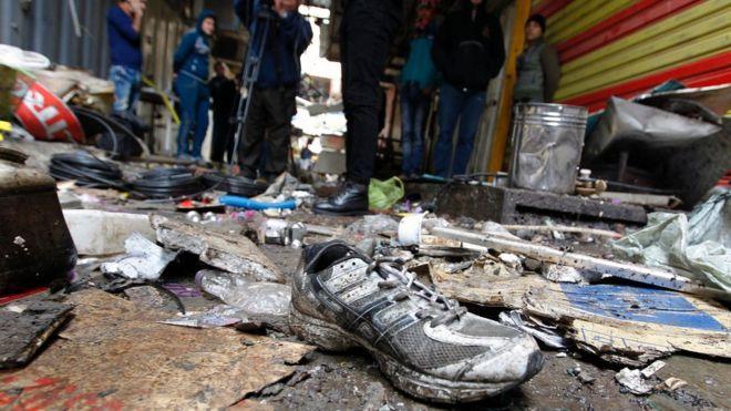 Два взрыва в центре Багдада. 25 погибших, 40 раненых