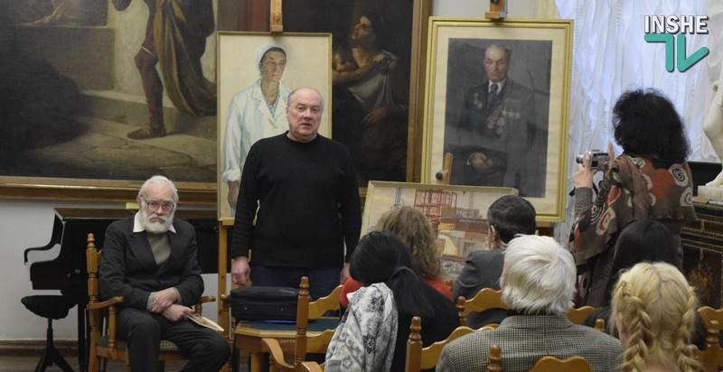 В Николаевский музей Верещагина передали 34 картины Владимира Никитина