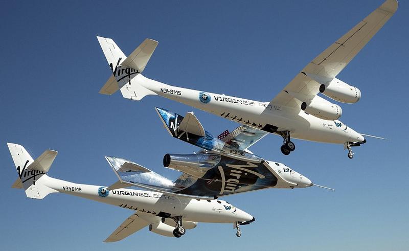 Virgin Galactic успешно испытала космоплан VSS Unity с людьми на борту