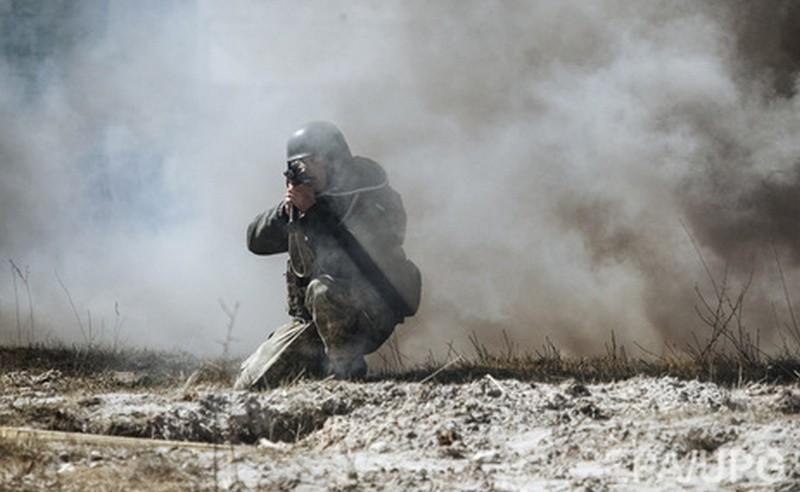 Один украинский военный получил ранение в зоне АТО