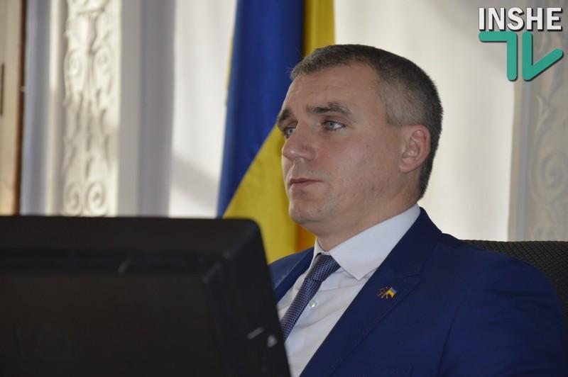 Мэр Николаева Сенкевич не помнит, как голосовал на сессии горсовета по вопросу своей зарплаты: «Сейчас я на видео вижу, что моя рука опускается после слова «против»