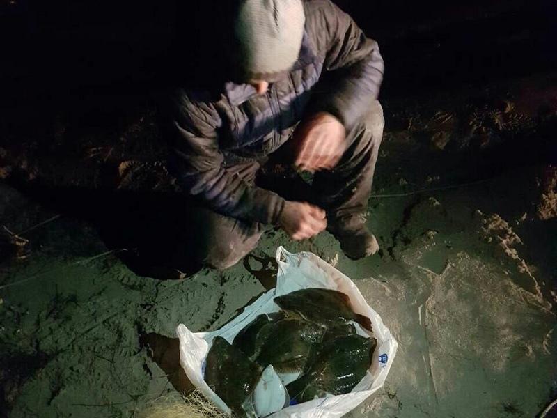 Это таки глосик: в Очаковском районе задержали браконьера