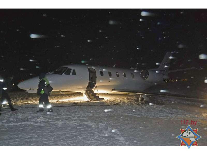 В Беларуси произошло ЧП с прилетевшим из Киева самолетом