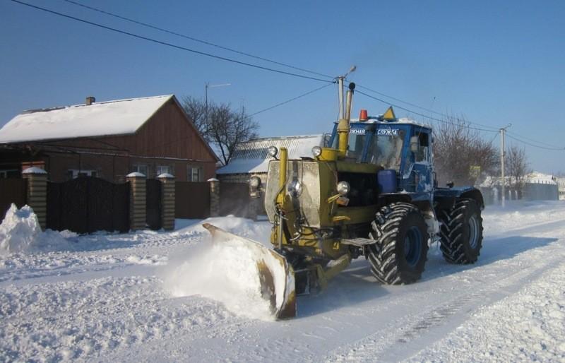 Сегодня дороги Николаевщины продолжала чистить 61 единица техники