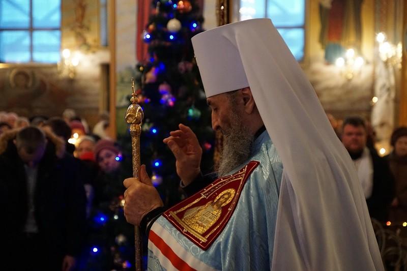 «Чтобы Бог послал мир и на Николаевскую землю, и на всех нас» — на Николаевщине побывал Предстоятель УПЦ МП