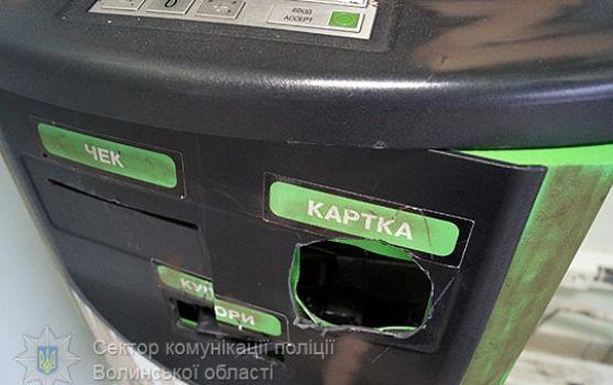 В Луцке со стрельбой задержали грабителей банка