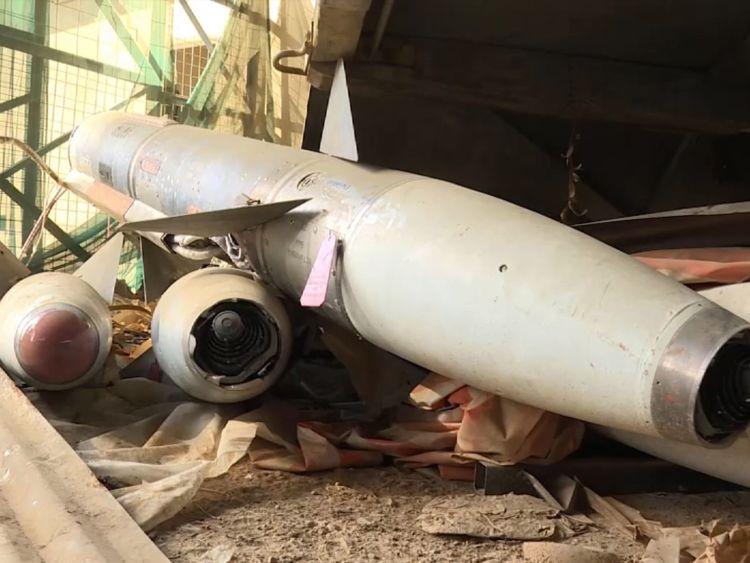 В Сирии на складе боевиков ИГИЛ нашли российские ракеты с химическими боеголовками