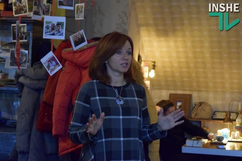 «Каждая женщина – это роман»: в Николаеве с читателями встретилась Ирина Говоруха