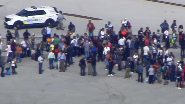 Расстрел в аэропорту Флориды. 5 человек погибли
