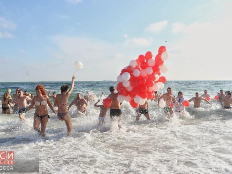 В Одессе сегодня пытались установить крещенский рекорд. Не вышло