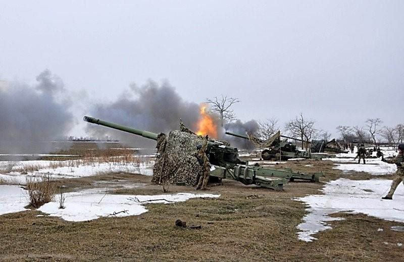 Береговая артиллерия ВМСУ отработала уничтожение морских целей на учениях в Николаевской области