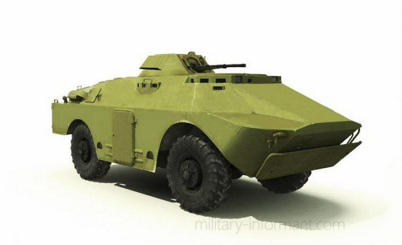 Николаевский бронетанковый завод ведет разработку улучшенной версии бронемашины БРДМ-2